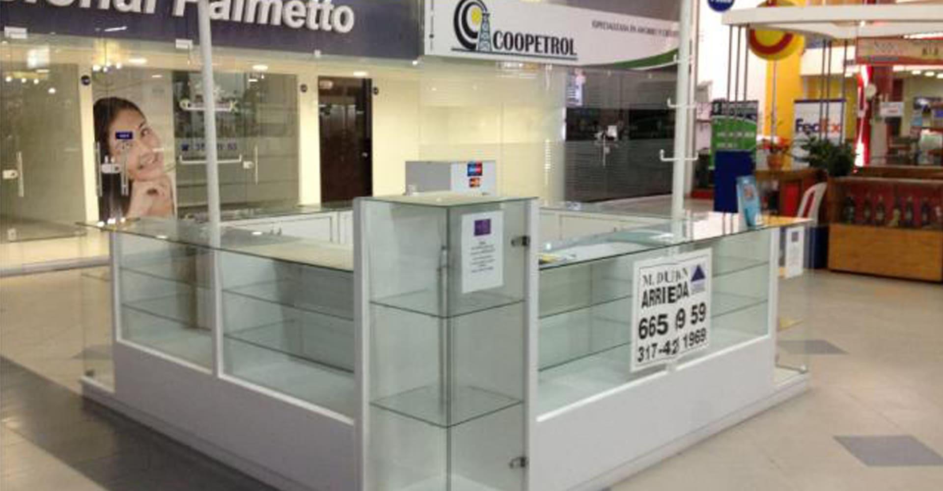 M dulos tipo isla para centros comerciales for Construccion de modulos comerciales
